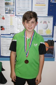 Under 13 winner - Ollie Rampton