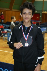 Under 15 Boys winner -  Jaden Aulakh